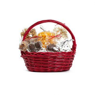 Del's Signature Red Gift Basket
