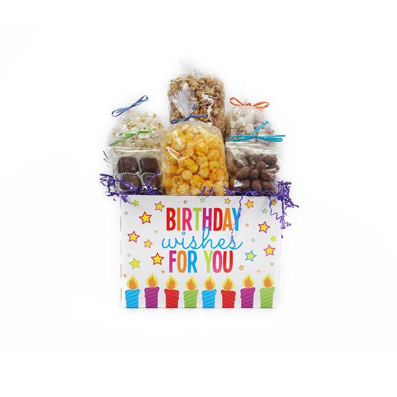 Birthday Wishes For You Large Gift Basket Box