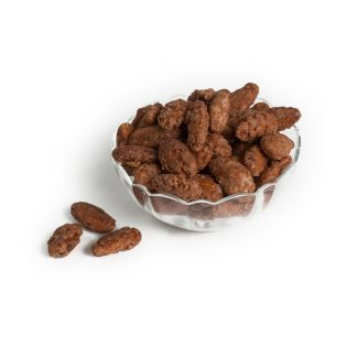 Cinnamon and Sugar Glazed Almonds