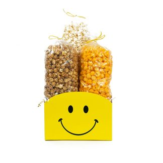 """Smiley Face"" Large Gift Basket Box"
