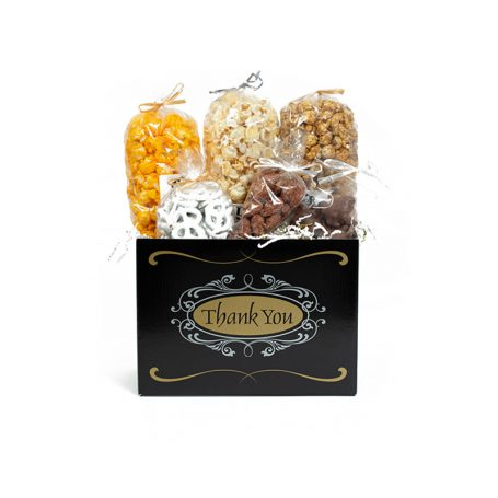 """Thank You Script"" Large Gift Basket Box"